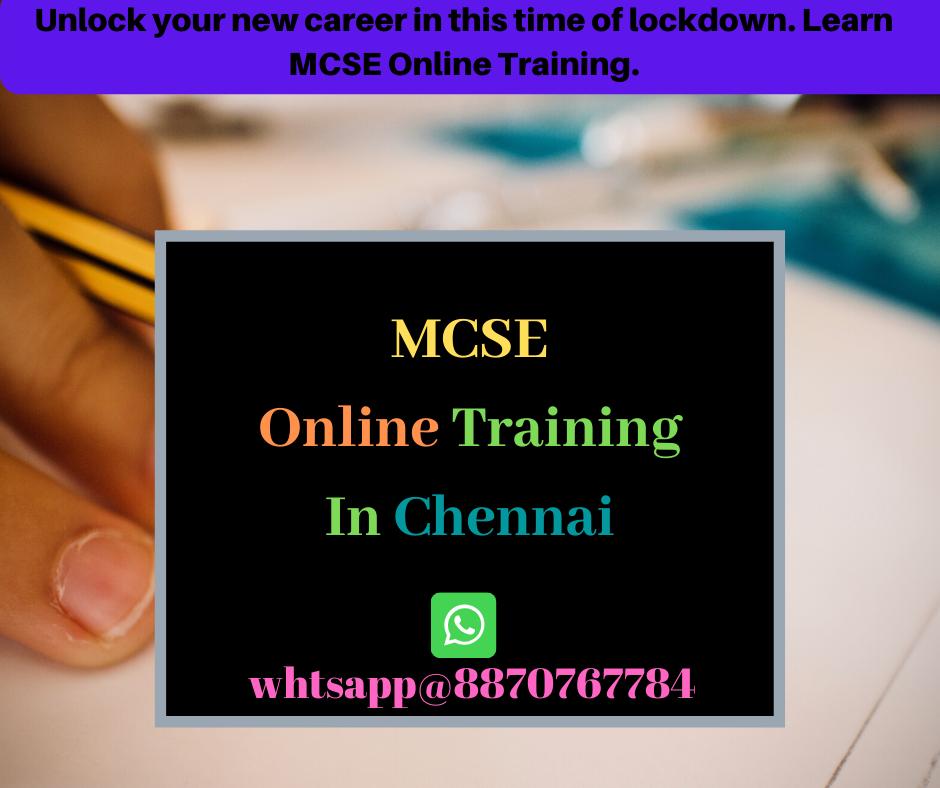 MCSE Training in chennai