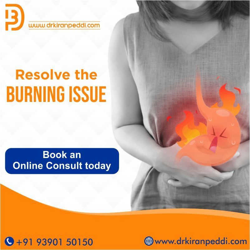 Gastro Problems Treatment in Hyderabad | Dr. Kiran Peddi