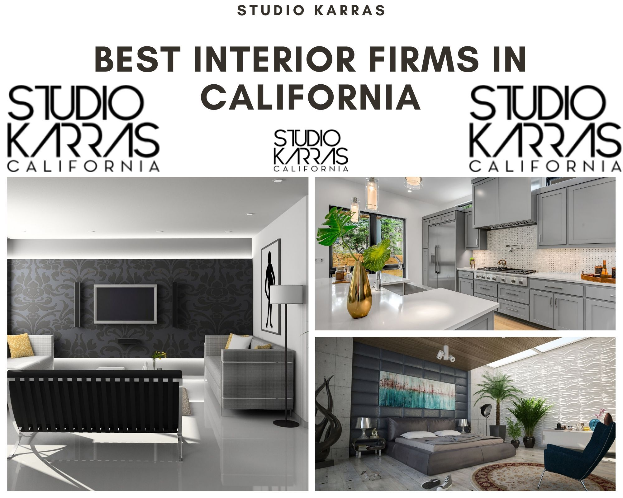 Best Interior Firms In California LA