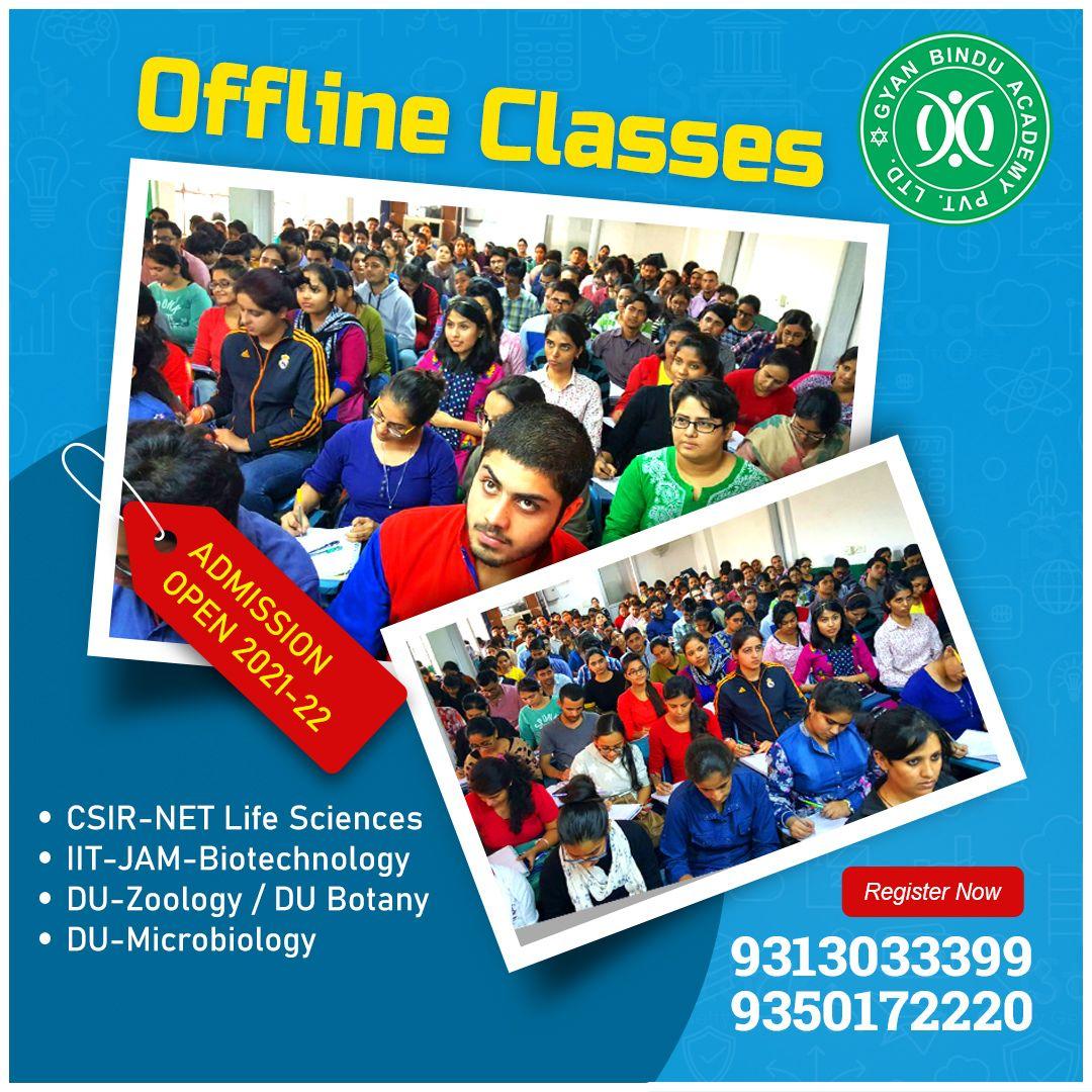CSIR UGC JRF NET Life Sciences Coaching in Delhi IIT JAM GATE BIOTECH