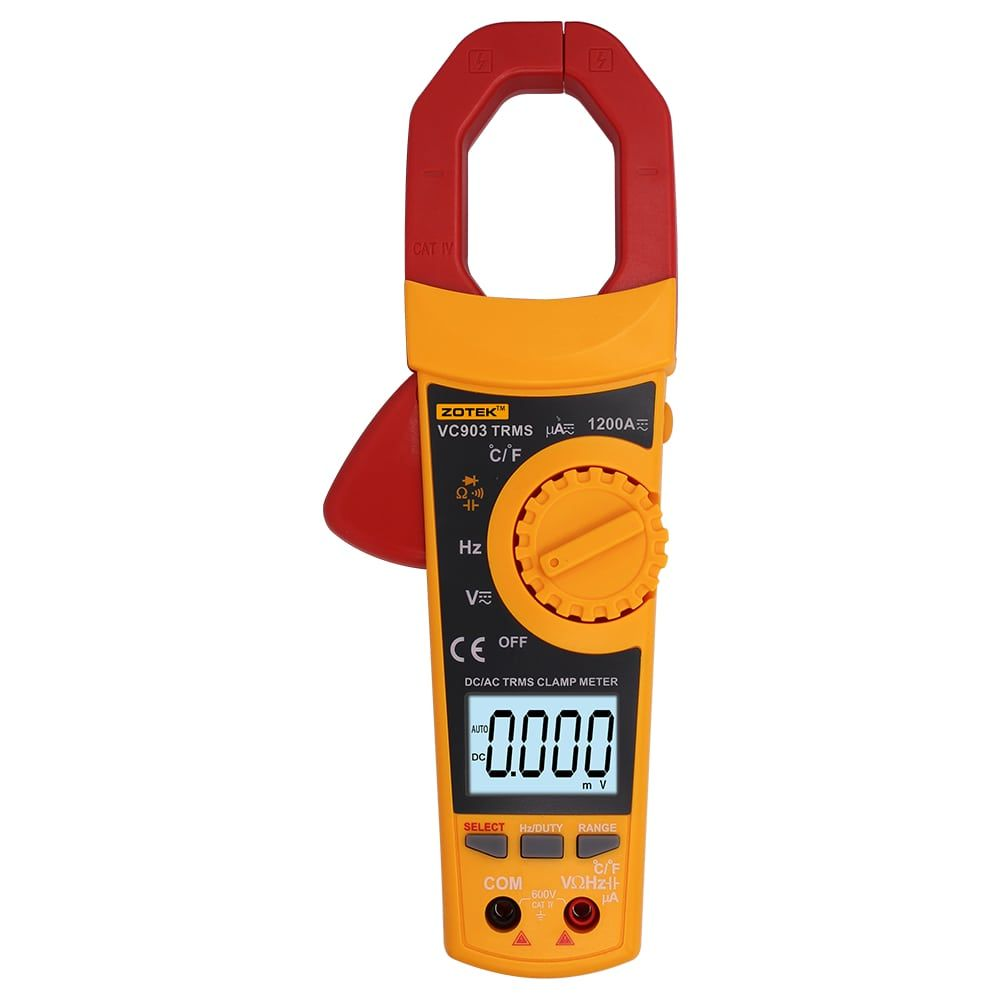 Digital Clamp Meter - Electrical Measuring Instruments