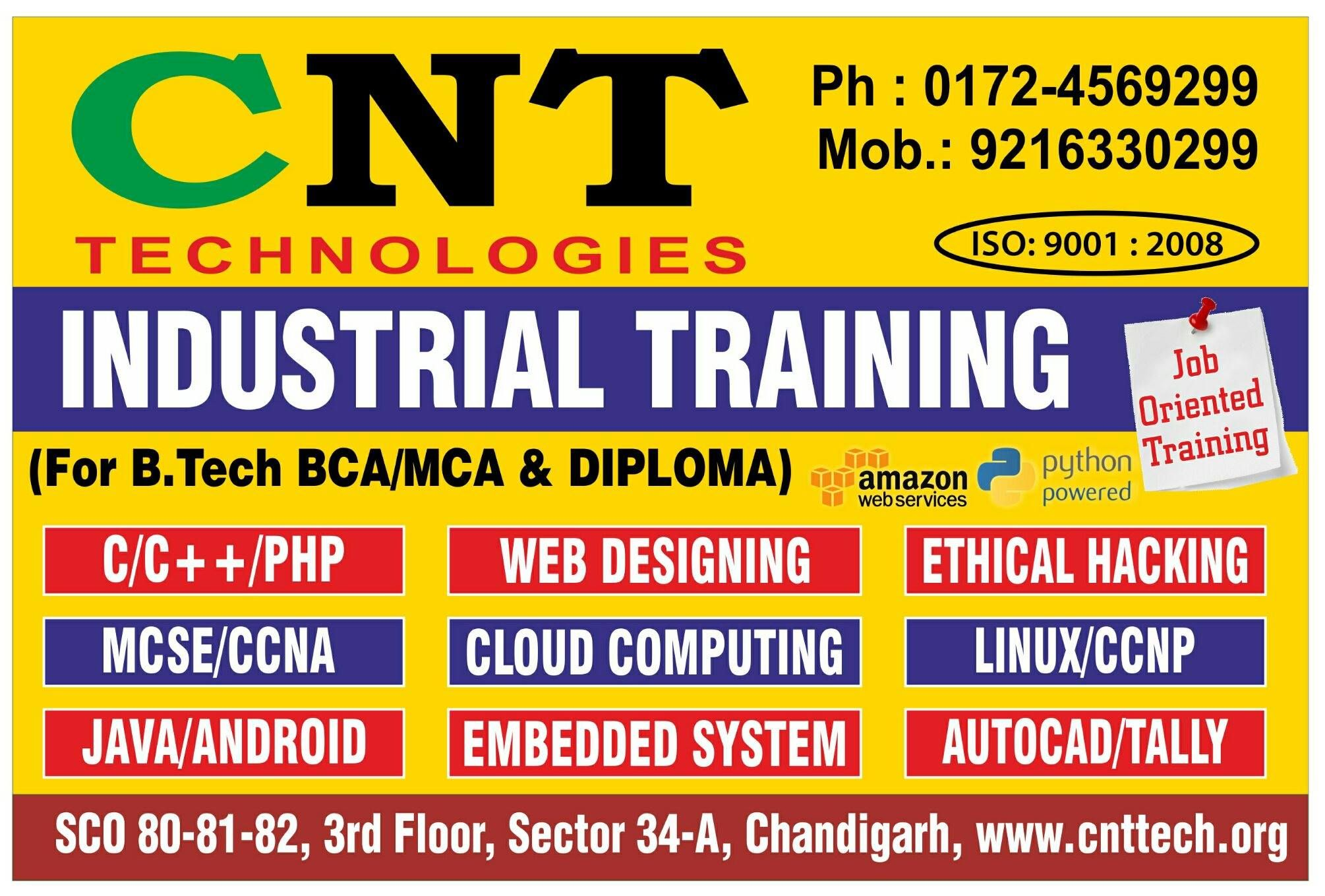 6 six weeks industrial training in Chandigarh