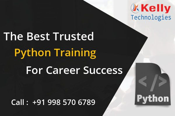 Avail The Best Expert Based Python Training In Hyderabad By Enrolling For The Kelly Technologies