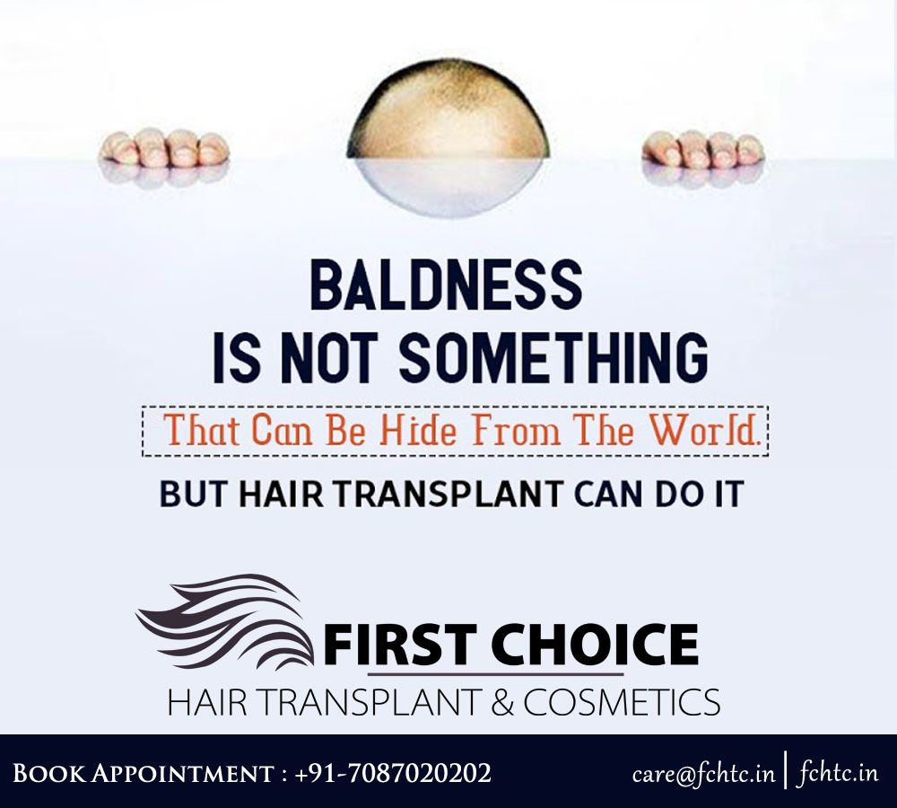 Hair Transplant In Ludhiana, Punjab - Cost, Clinic | Fchtc