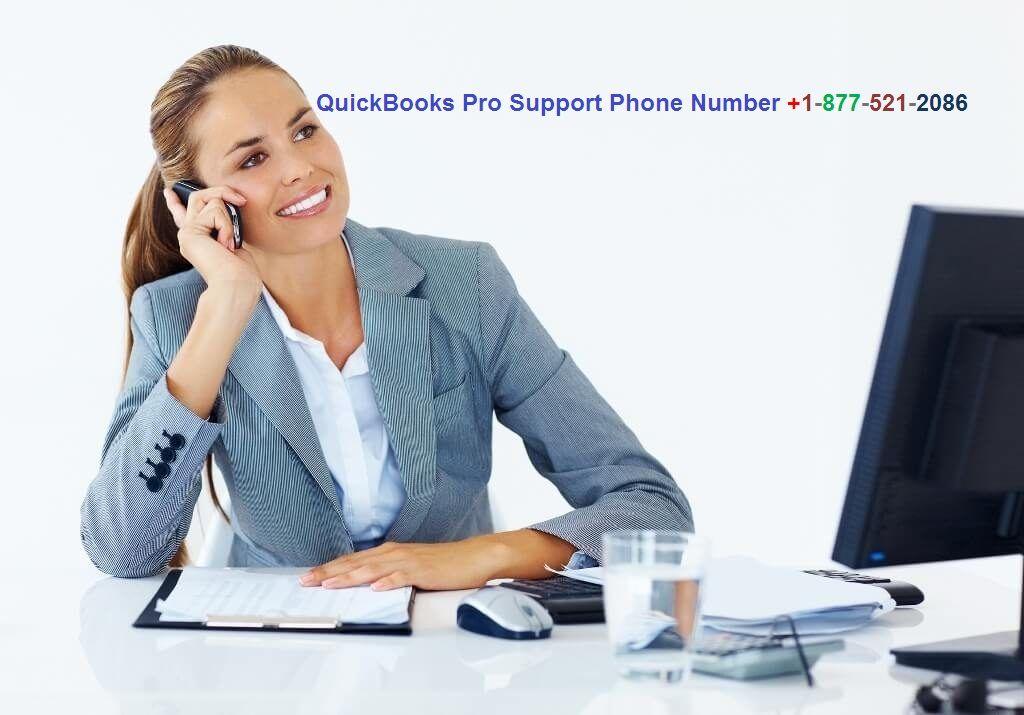 Quickbooks Pro Support Phone Number +1 877 521 2086