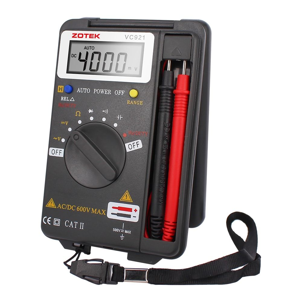 Digital Multimeter - Electrical Measuring Instruments