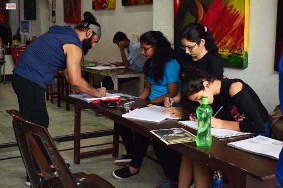 painting classes by raghuvansham school in delhi