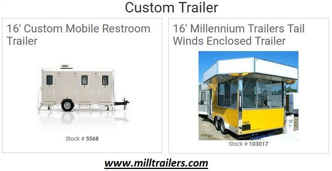 Get A Custom Trailer for Your Hauling Needs