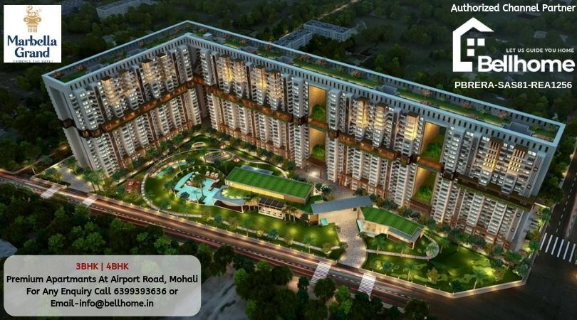 4BHK Flats in Mohali - BellHome Real Estate