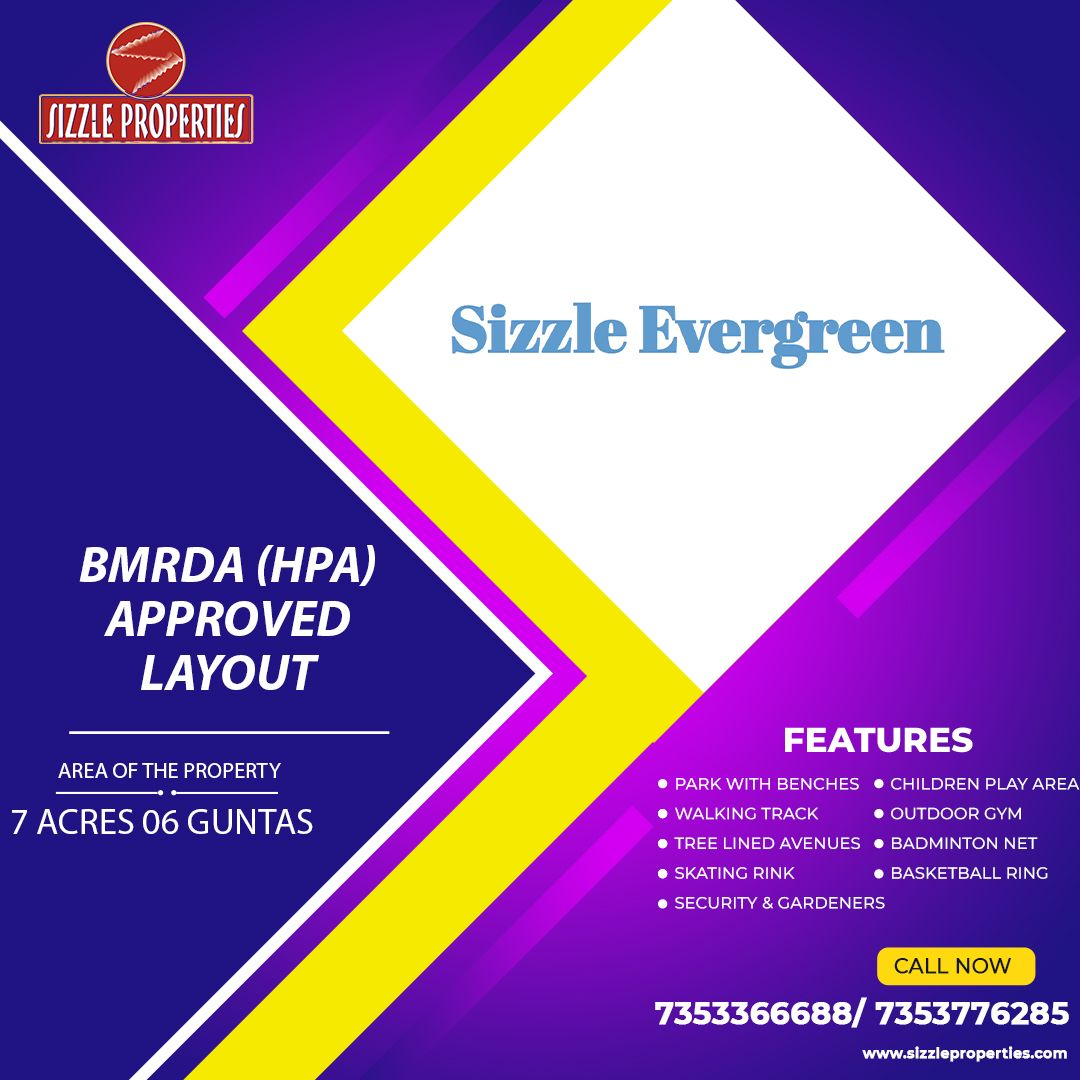 BDMRA approved plots for sale in Budigere Cross Bangalore