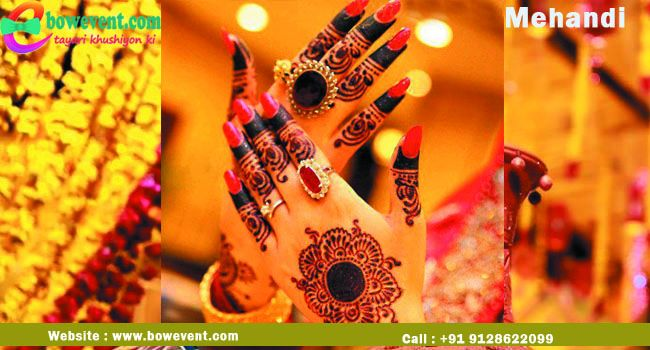 Wedding Mehandi Designer in Patna | Mehandi Artist in Patna with Bowevent